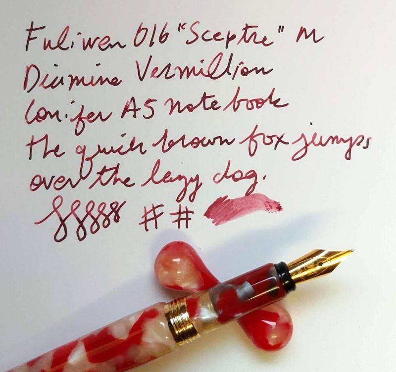 Fuliwen_016_writing_sample_Diamine_Vermi
