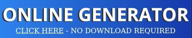 Online generator blue