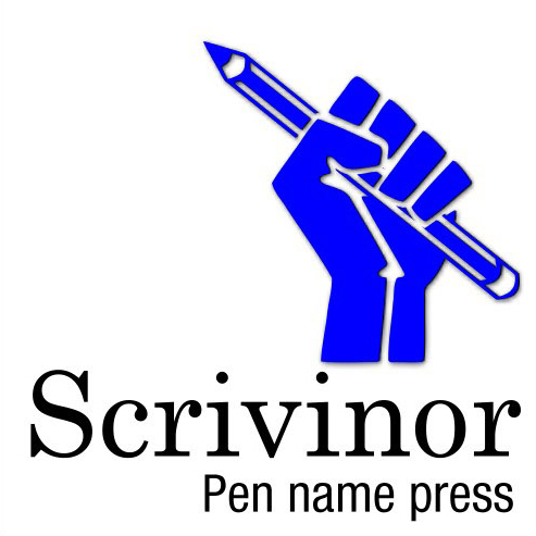 Scrivinor square blue logos