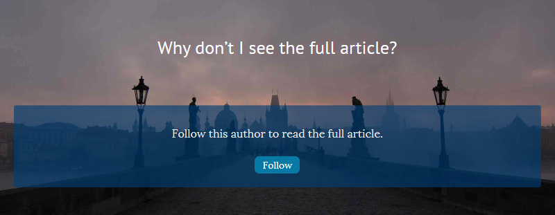Turn Readers to Fans with Follow-to-Read - Scrivinor