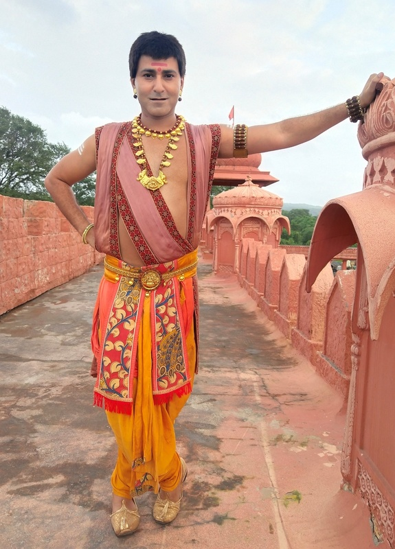 Krishna bharadwaj as bhaskar on sony sab s tenali rama