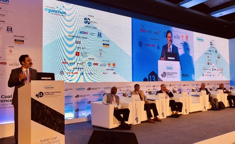 Mr vinaya varma  md   ceo mjunction at 13th indian coal market conference