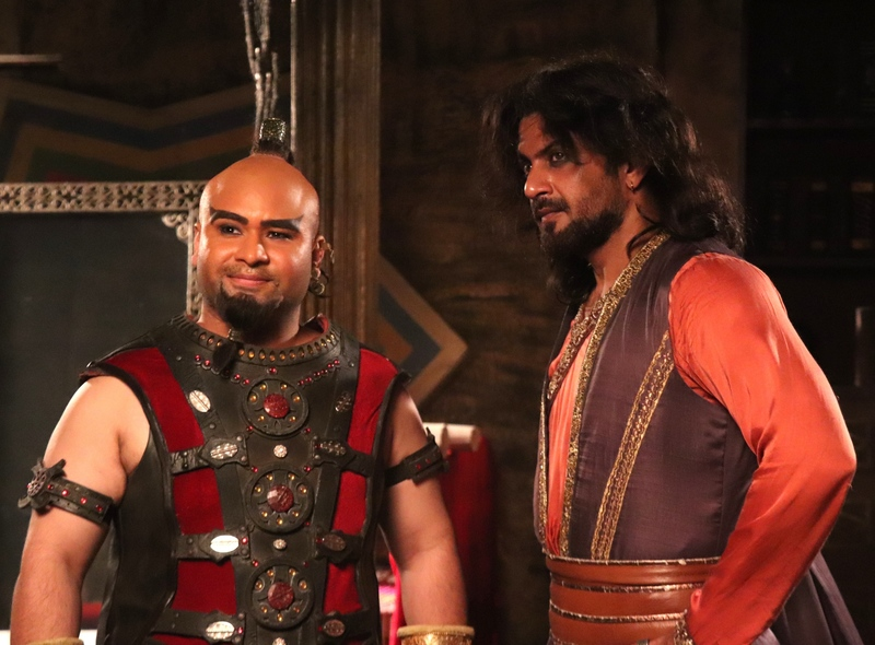 Zafar and ginoo on sony sab s aladdin naam toh suna hoga