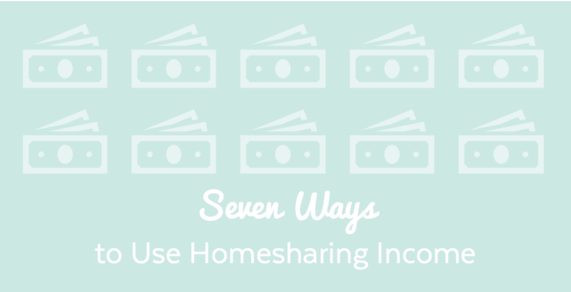 Seven ways homesharing income