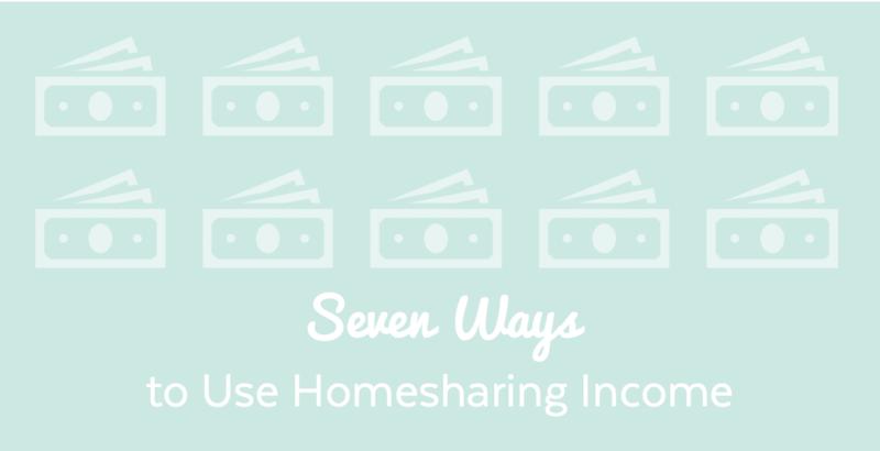 Seven ways homesharing income