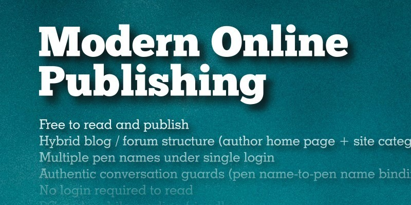 Writershelf   modern online publishing 01