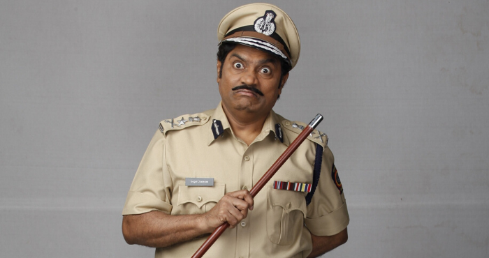 Johnny lever as gogol chatterjee in sony sab s partners