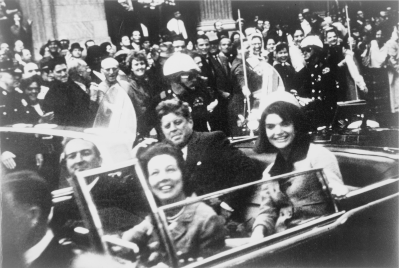 John f. kennedy motorcade  dallas crop