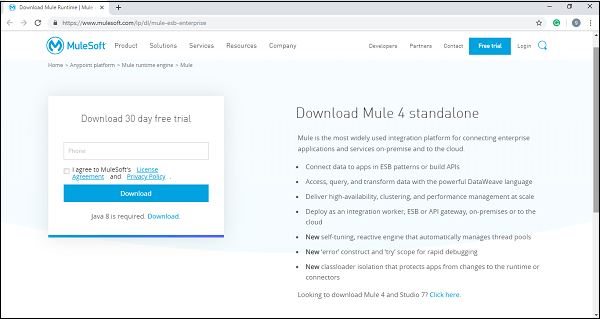 Download mule 300420